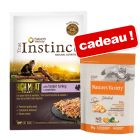 Sachets True Instinct 8 x 70 g + 300 g Nature's Variety Selected offerts !