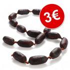 Salchichas de venado desecado ¡por solo 3€!