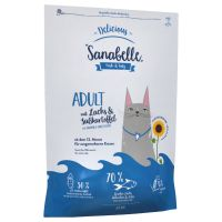 Sanabelle Delicious Adult, saumon, patates douces pour chat