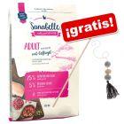Sanabelle 10 kg pienso + caña de juguete Flauschi ¡gratis!