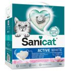 Sanicat Active White Lotus Flower arena aglomerante para gatos