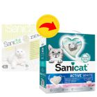 Sanicat Active White Lotus Flower Clumping Litter