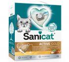 Sanicat Active Gold areia aglomerante para gatos