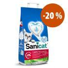 Sanicat arena absorbente para gatos ¡con gran descuento!