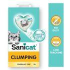 Sanicat Clumping areia aglomerante sem aroma para gatos