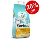 Sanicat Clumping Cat Litter  -  20% Off!*