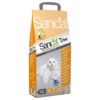 Sanicat Clumping Duo
