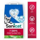 Sanicat 7 Days наполнитель для туалетов с алоэ вера
