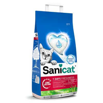 Sanicat 7 Days Aloe Vera arena absorbente para gatos