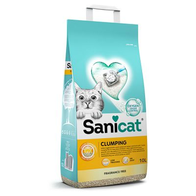 Sanicat Fragrance Free Clumping Cat Litter