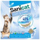 Sanicat Light & Clump, żwirek z sepiolitu