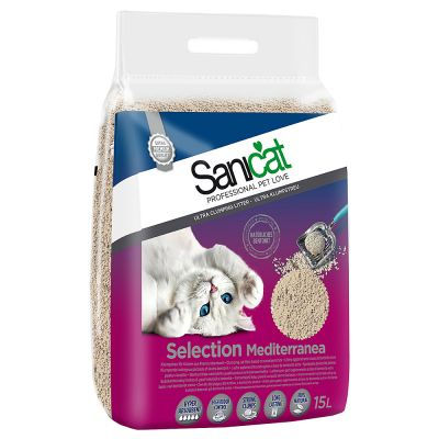 Sanicat Selection Mediterranea Clumping Litter