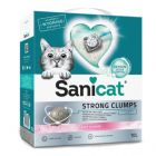 Sanicat Strong Clumps areia aglomerante para gatos