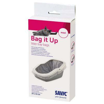 Savic Aseo Cat Litter Tray with High Edge - 56cm