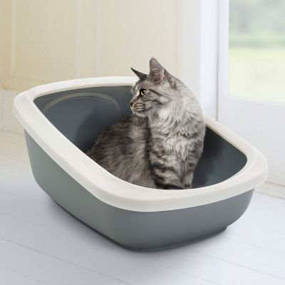 Savic Aseo Jumbo Cat Litter Tray with High Edge - 67.5cm
