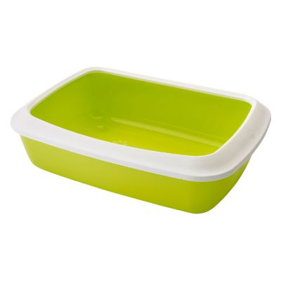 Savic Iriz Cat Litter Tray with Protective Edge - 42cm
