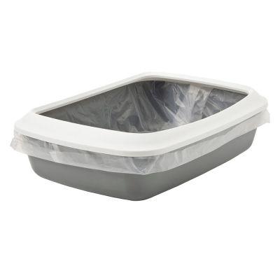 Savic Iriz Litter Tray with Protective Edge - 50cm