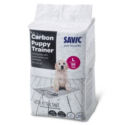 Savic Puppy Trainer Pads with Activated Charcoal