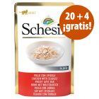 Schesir bolsitas 24 x 85 g en gelatina en oferta: 20 + 4 ¡gratis!