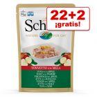Schesir bolsitas 24 x 85 g en oferta: 22 + 2 ¡gratis!
