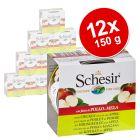 Schesir Fruit -säästöpakkaus 12 x 150 g