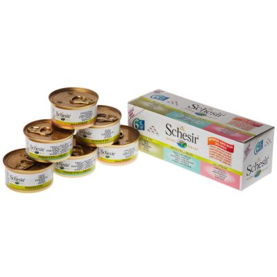 Schesir in Broth Mixed Pack 6 x 70g