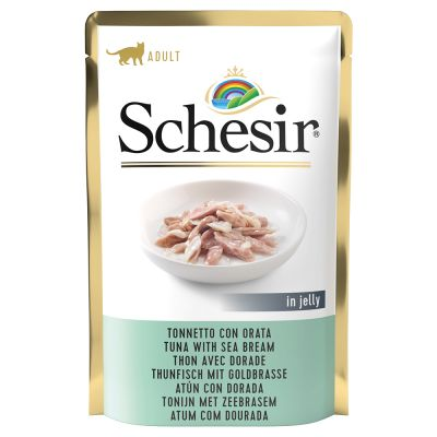 Schesir Jelly Pouch Saver Pack 24 x 85g
