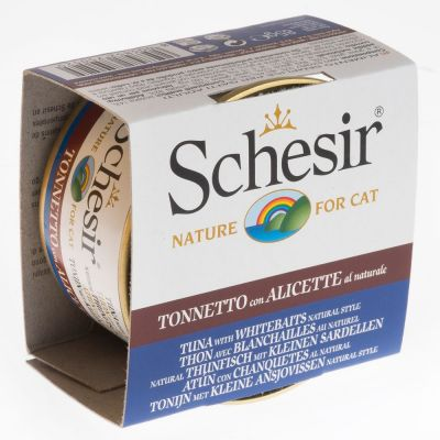 Schesir Natural con arroz 24 x 85 g - Pack Ahorro