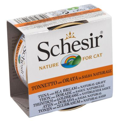 Schesir Natural in Saus Kattenvoer 6 x 70 g
