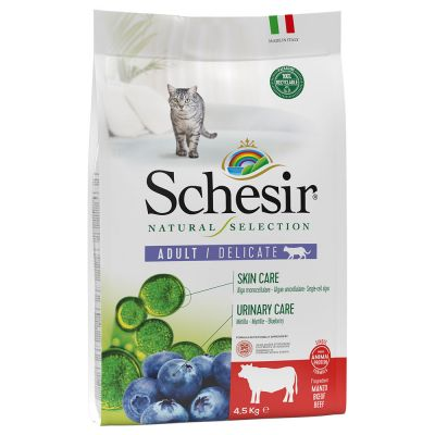 Schesir Natural Selection Adult bœuf pour chat