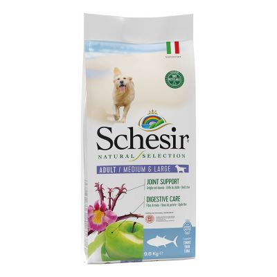 Schesir Natural Selection Adult Medium & Large con Tonno