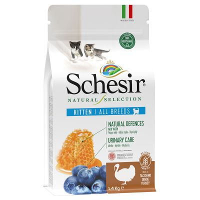 Schesir Natural Selection Kitten dinde pour chaton