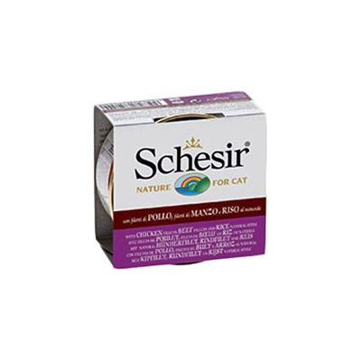 Schesir Natural with Rice 6 x 85g