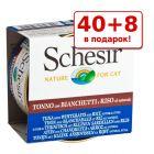 40 + 8 в подарок! Schesir Natural 48 x 85 г