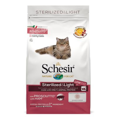 Schesir Sterilized & Light con Prosciutto