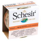 Schesir w naturalnym sosie, 6 x 70 g