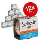 Экономупаковка Schesir в соусе 12 x 70 г