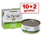 Schesir 12 x 150 g latas en oferta: 10 + 2 ¡gratis!