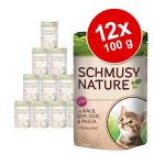 Schmusy Nature Balance Kitten i portionspose 12 x 100 g