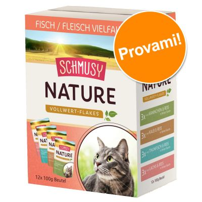 Schmusy Nature Fiocchi Integrali