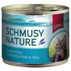 Schmusy Nature Ryba w puszkach, 12 x 185 g