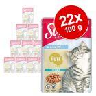 Schmusy Ragout Kitten în sos 22 x 100 g