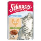 Schmusy Ragout Kitten, w galarecie, 22 x 100 g