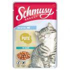 Schmusy Ragout Kitten w sosie, indyk, 22 x 100 g