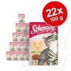 Schmusy Ragout w galarecie, 22 x 100 g