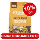 Scrumbles Adult & Senior Chicken Dry Dog Food