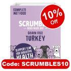 Scrumbles Grain Free Turkey Wet Dog Food