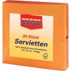 Selection Servietten dunkel Orange