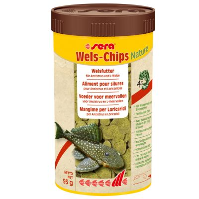 sera Wels Chips Nature