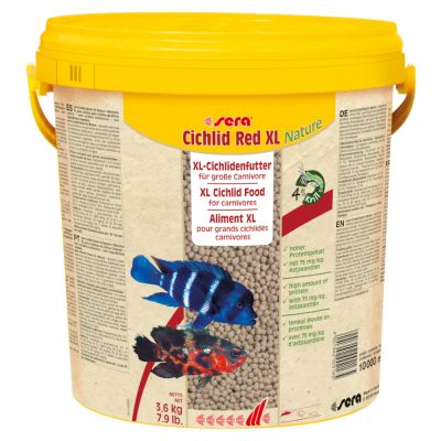sera Cichlid Red XL Nature Granulatfoder